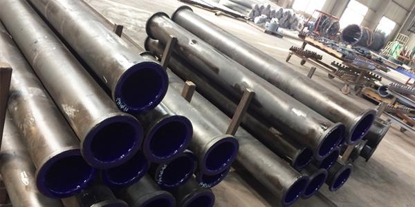 浅述搪玻璃管道的规格与制作技术