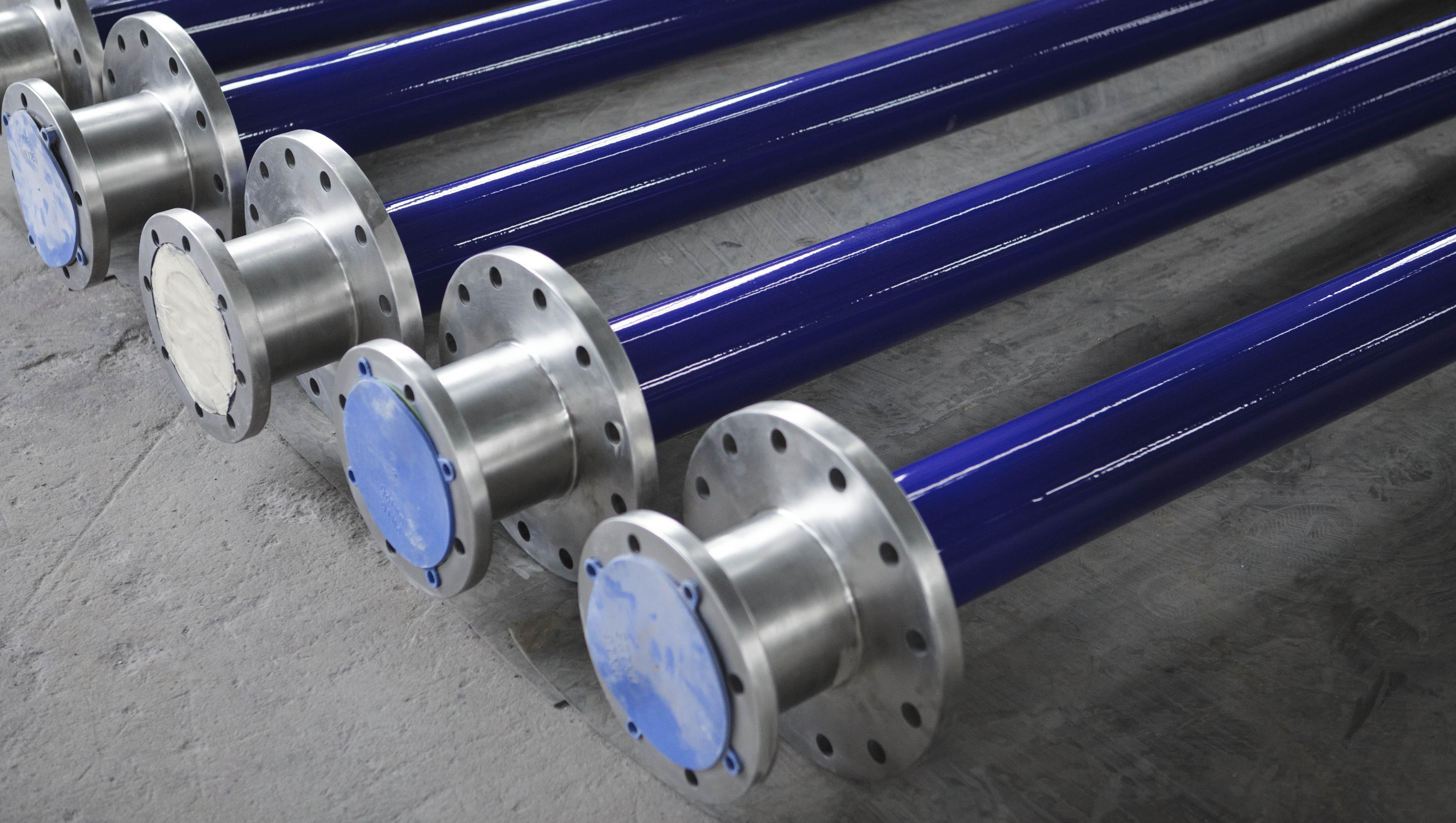 不锈钢双面搪瓷加料管1